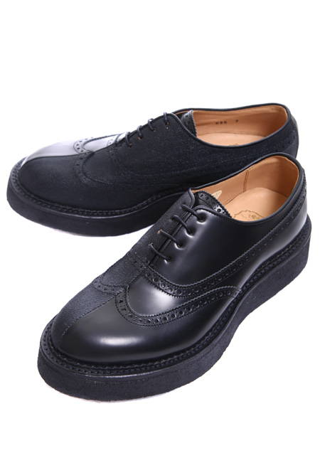 DIET BUTCHER SLIM SKIN TWO FACE WING TIP BLACK