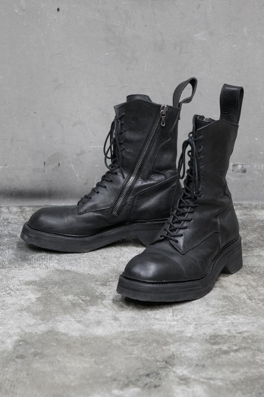 FOOT WEAR FOR MALE ミリタリーブーツ COW SKIN 527FWM2 ¥88,000(税抜)