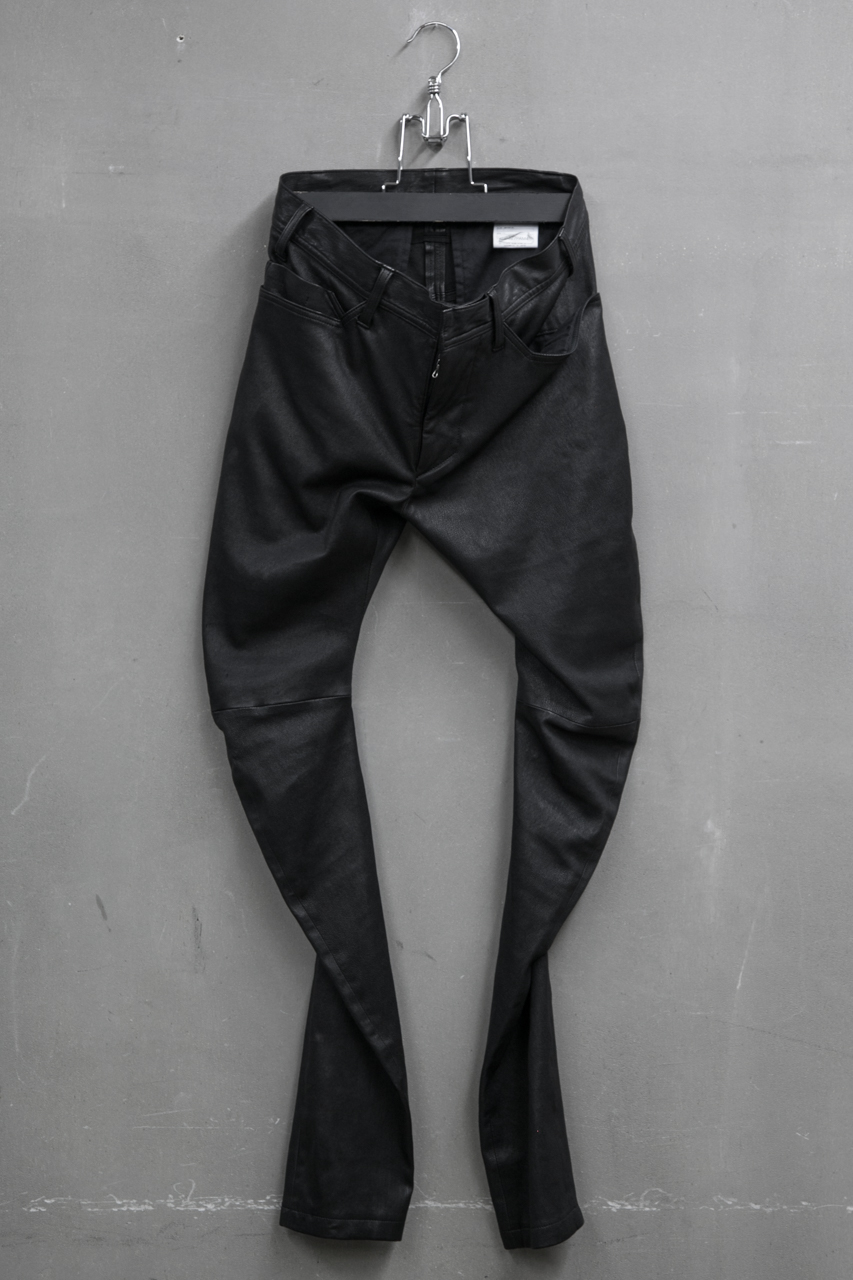 JULIUS TROUSERS FOR MALE インディレクトパンツ STRETCH DEER SKIN 品番:527PAM4 ¥220,000-(税抜)