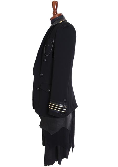 Roen Produced by HIROMU TAKAHARA 品番:75131003 商品名:NAPOLEON SKIRT JKT