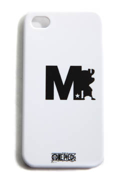 M IPHONE4 COVER (ONE PIECE SHADOW CHOPPER BY M)