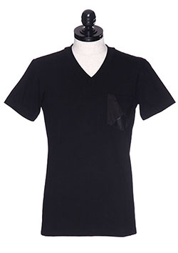 1PIU1UGUALE3 CRAZY CUTTING JERSERY POCKET T