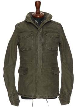 AKM REAL MILITARY HEAVY COTTON M-65 (COLD WEATHER)