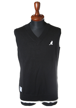 KANGOL V-NECK VEST BI-COLOR