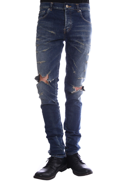 MOONAGE DEVILMENT DAMAGE SKINNY DENIM