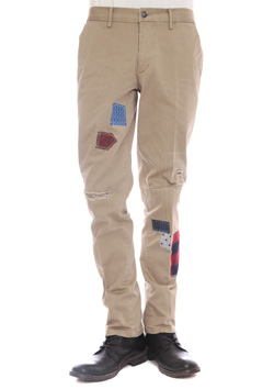 SEVESKIG REMAKE CHINO-PANTS