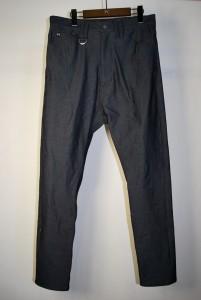 17SRP-03 DENIM PRINT JERSEY SAROUEL PANTS ¥30,000(+tax)
