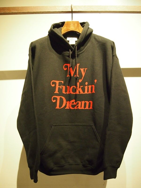17SS-MSW007 pull over hood parka ( my fuckin' dream 17SS) black ¥12,000(税抜)