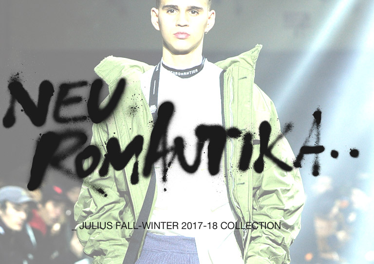 JULIUS 2017-18AW COLLECTION