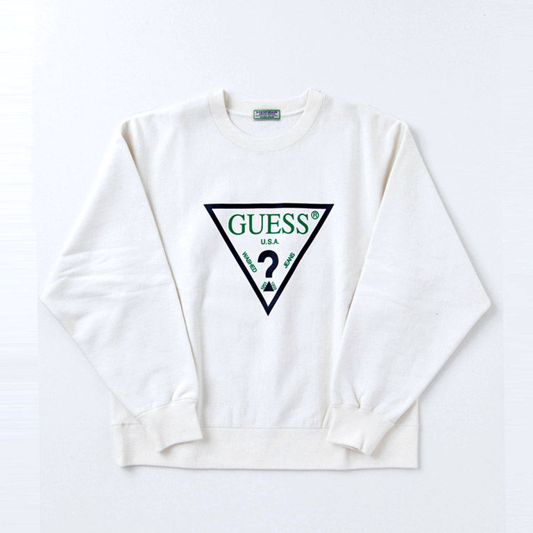 GUESS GREEN LABEL ゲス グリーンレーベル GRFW17-003 TRIANGLE LOGO SWEATER 2017-18AW 2017-18秋冬 通販 全国発送可能