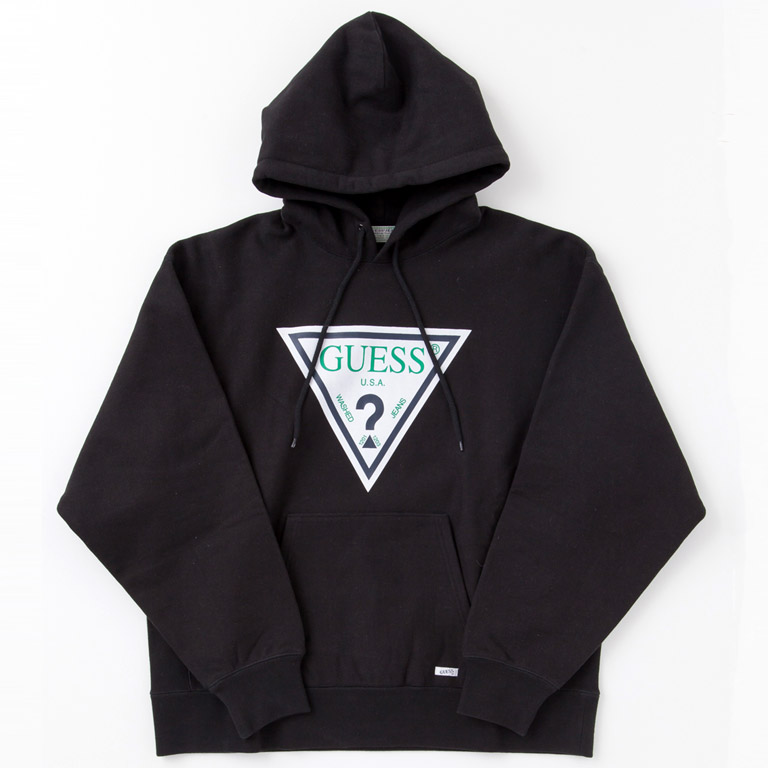 GUESS GREEN LABEL ゲス グリーンレーベル GRFW17-004 TRIANGLE LOGO HOODIE 2017-18AW 2017-18秋冬 通販 全国発送可能