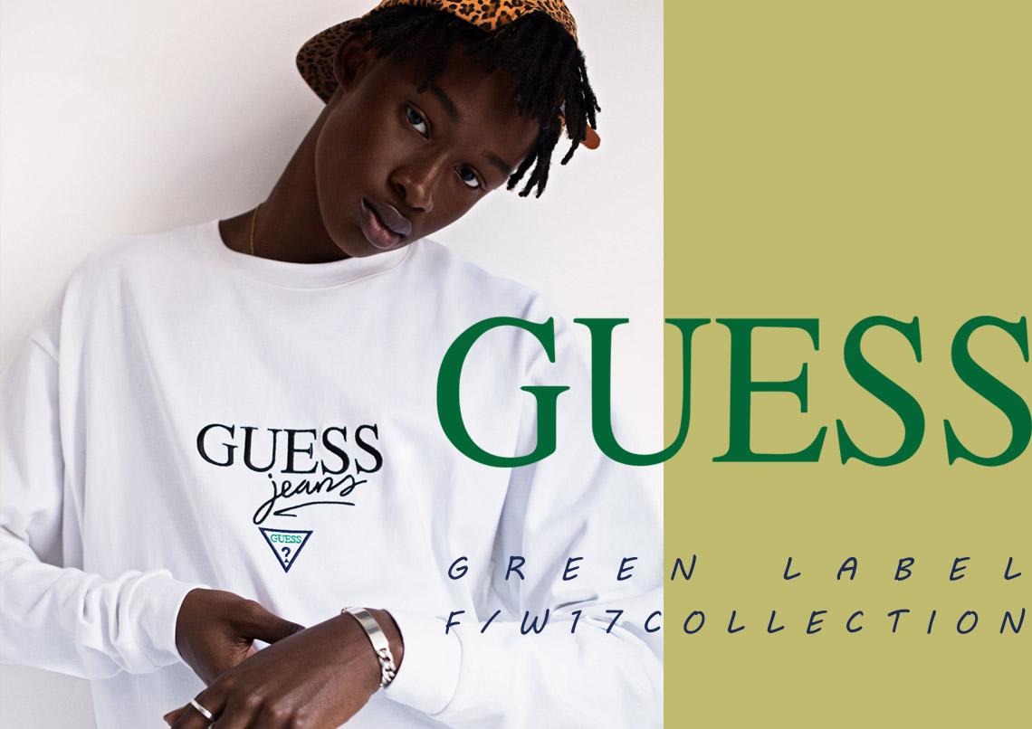 GUESS GREEN LABEL ゲス グリーンレーベル 2017-18AW 2017-18秋冬