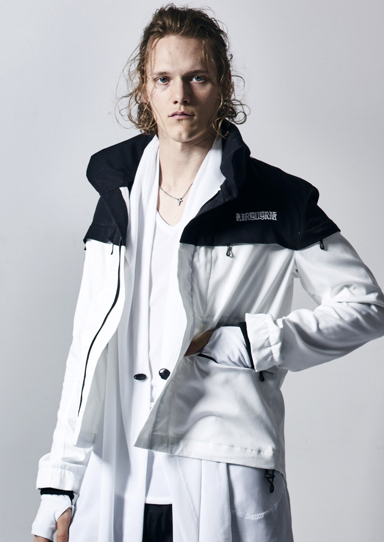 KD-HJ21-901 HIGH PEFORMANCE MATERIAL MOUNTAIN BLOUSON kiryuyrik キリュウキリュウ 2018SS 2018春夏