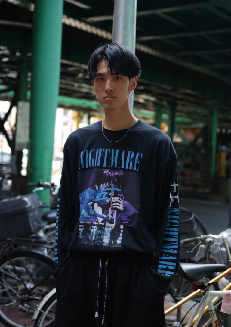 JYUUGO NIGHTMARE L/S LONELY 論理 #4 2017-18AW 2017-18秋冬