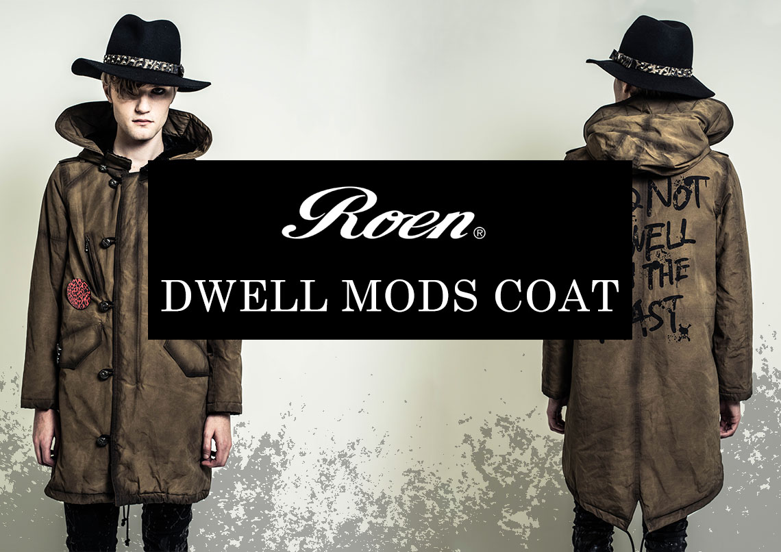 Roen 2017-18AW COLLECTION DWELL MODS COAT 77132010