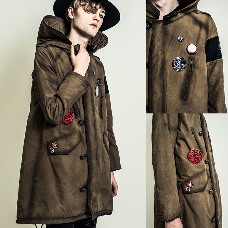 Roen 2017-18AW COLLECTION COATING TRENCH COAT 77132008
