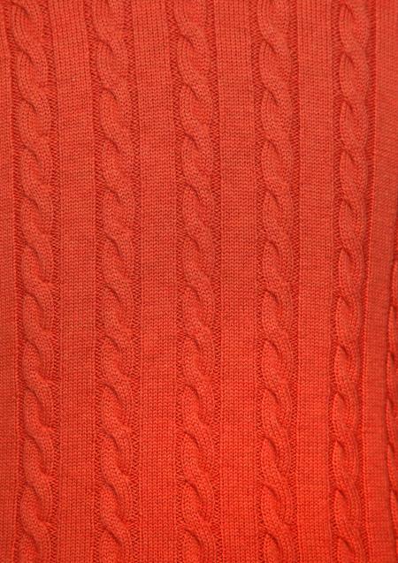 1PIU1UGUALE3 CASHWOOL CABLE CREW MRK136-WOL058