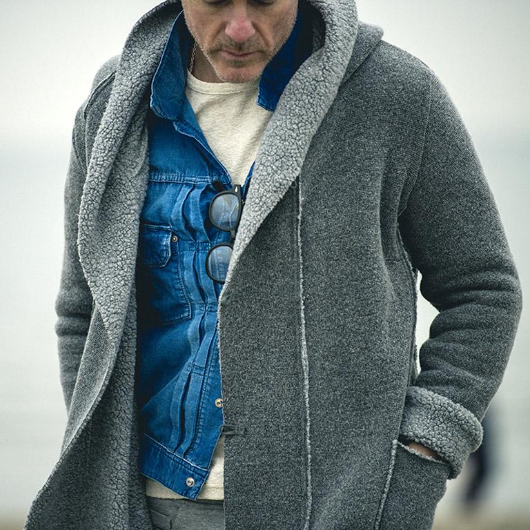 RESOUND CLOTHING リサウンドクロージング RC5-JK-004 BOA HOODIE COAT ボアフーディーコート 2017-18AW 2017-18秋冬 全国発送可能