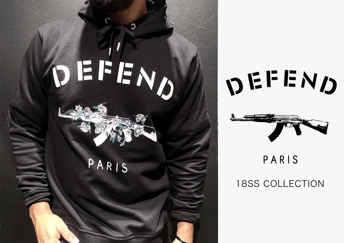 defend paris ディフェンド パリス 18ss 新作アイテムが入荷しました