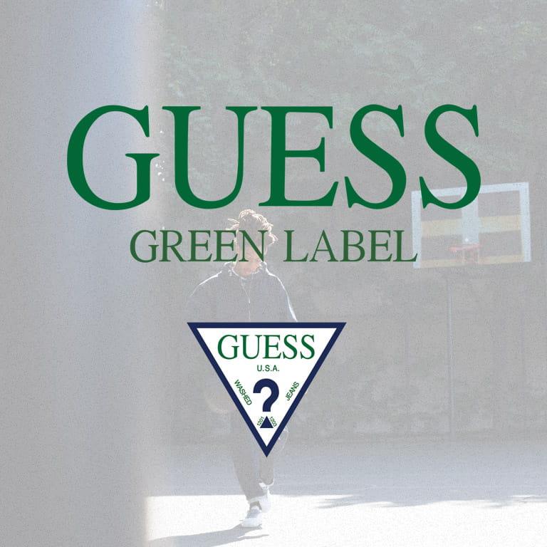 GUESS GREEN LABEL ゲスグリーンレーベル 通販