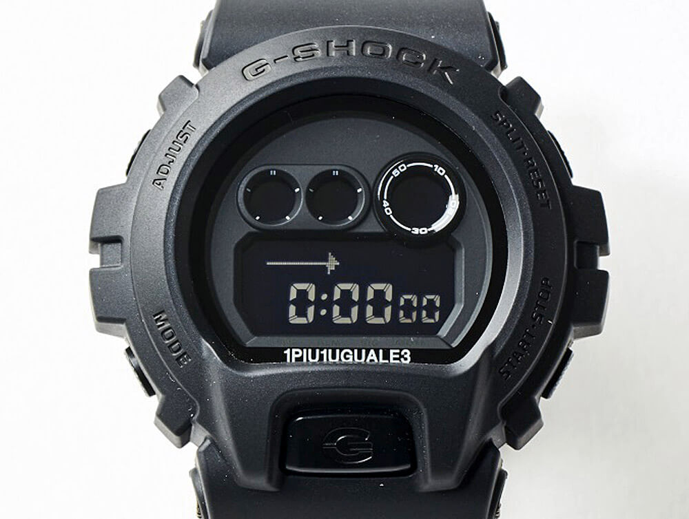 G-SHOCK × 1PIU1UGUALE3 GD-X6900 MRG291-PLT006 通販 取り扱い店