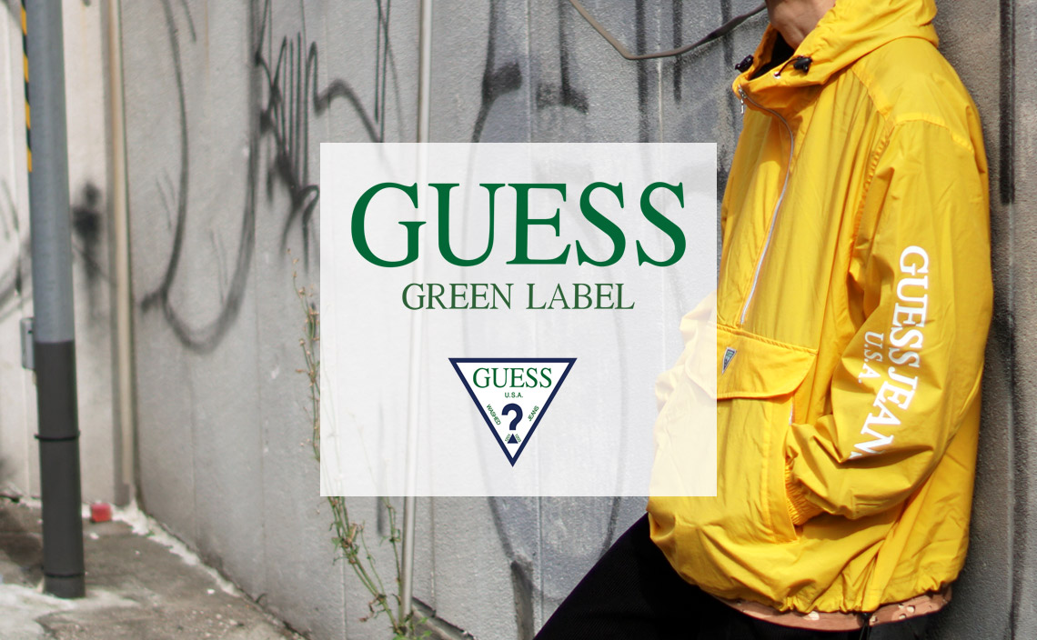 GUESS GREEN LABEL ゲスグリーンレーベル 2018AW 秋冬 通販