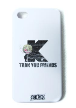 IPHONE4 COVER (ONE PIECE SANJI BY K)