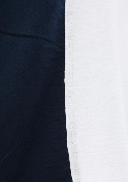 × BURNOUT CREW NECK DOCKING T-SHIRTS (M×BURNOUT)