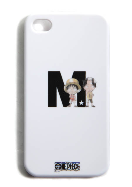 IPHONE4 COVER (ONE PIECE LUFFY & ACE BY M)