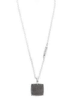 ノヴェルスクエアペンダント コーティング W/ダイヤモンド