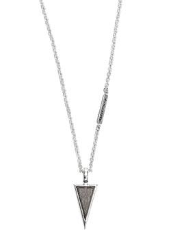 ノヴェルトライアングルペンダント コーティング W/ダイヤモンド