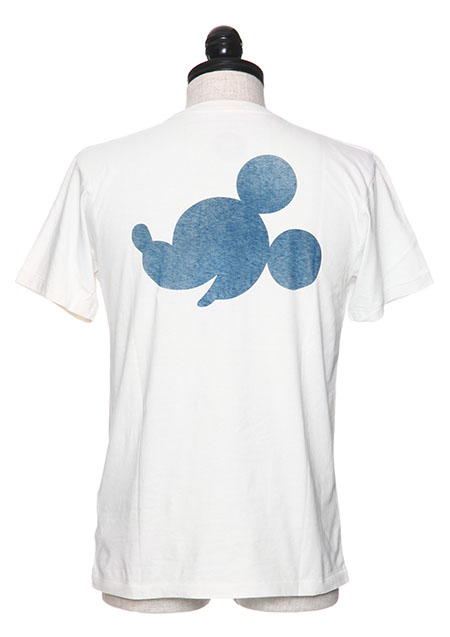 CREW NECK T-SHIRTS ( SHADOW MICKEY )