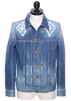 1PIU1UGUALE3 DENIM JACKET NO.3