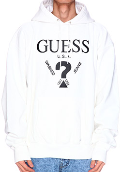 GUESS GREEN LABEL LOGO HOODIE