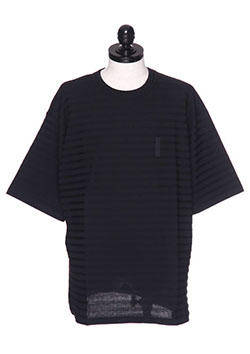 FULL-BK PLAIN BORDER TEE