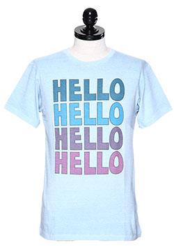 M CREW NECK T-SHIRTS (HELLO)