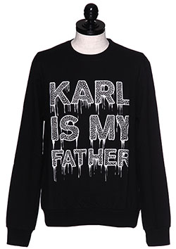 ELEVEN PARIS KARL 1M SWEATSHIRT