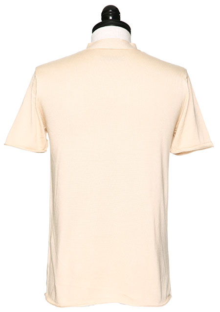 KOHARU (SILK) S/S V-NECK