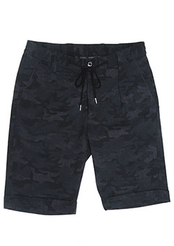 1PIU1UGUALE3 2WAY CAMO SUCKER SHORTS