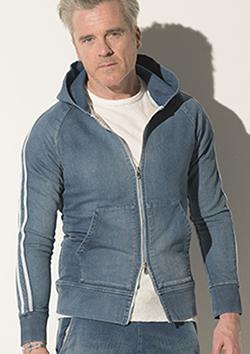 RESOUND CLOTHING HEAVY SWEAT DENIM HOODIE