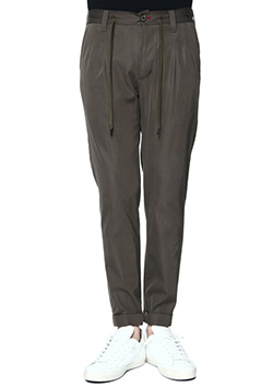 1PIU1UGUALE3 CUPRA MODAL HIGHPOWER TWILL TROUSERS