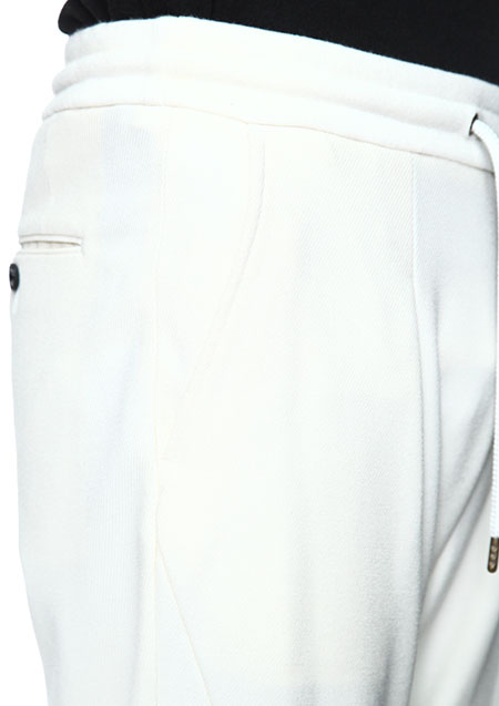 1PIU1UGUALE3 COSMICAL WARM JERSEY RELAX TROUSERS