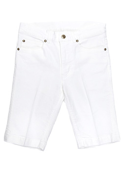 1PIU1UGUALE3 STRETCH DENIM TWIGGY SHORTS