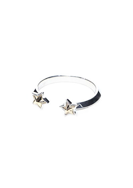 A.O.I DOUBLE STAR RING