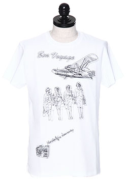 BON VOYAGE LAYER T-SHIRT