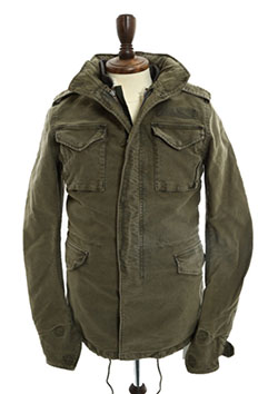 AKM REAL MILITARY   HEAVY COTTON M-65(COLD WEATHER)