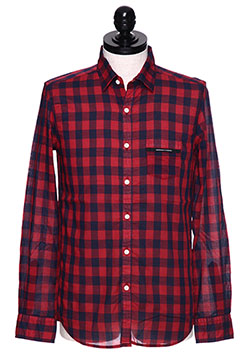 RESOUND CLOTHING MARK CHECK SHIRT