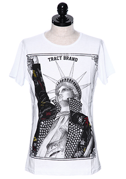 TRACT STATUE T-SHIRT
