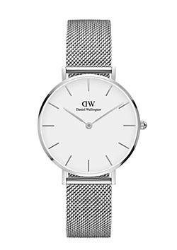 腕時計 クラシック ペティット ホワイト  スターリング 32mm