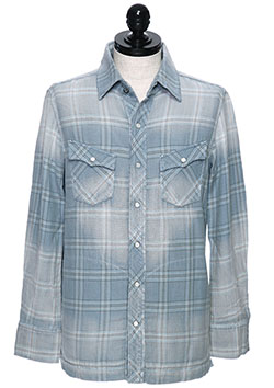 AYUITE SWシャツ裾フラット USED加工